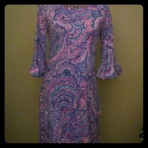 NWT Lilly Pulitzer sz small ruffled Sophie dress